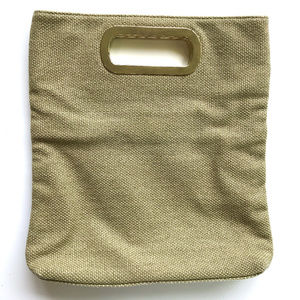 BANANA REPUBLIC Square Woven Tote Bag